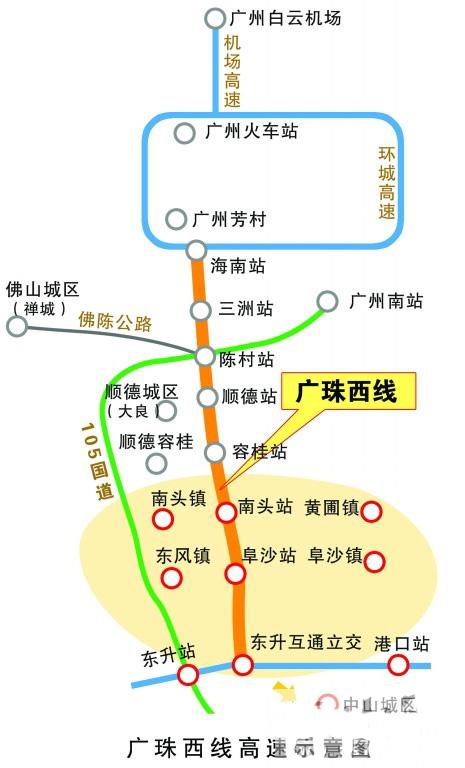 海南西线高速地图